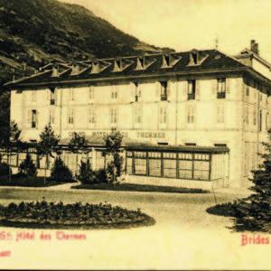 History of Brides-Les-Bains thermal spa