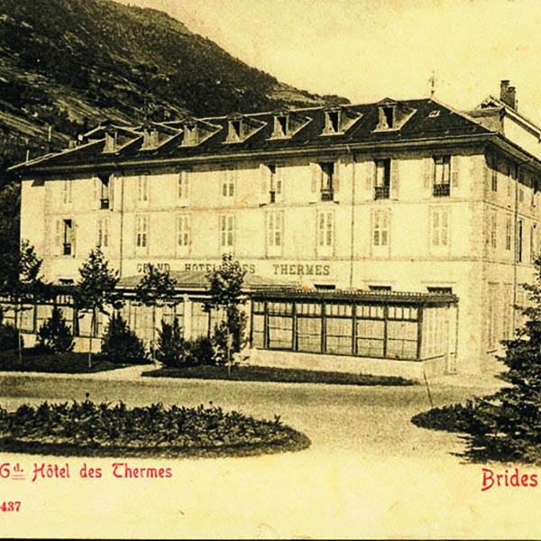 History of Brides-Les-Bains thermal spa