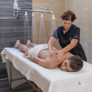 Spa treatments offering relief