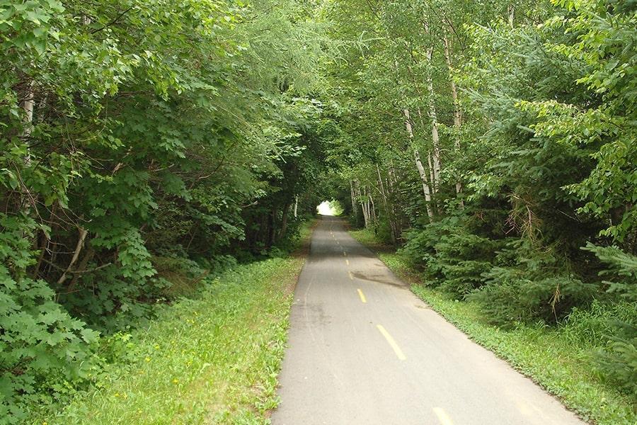 La voie verte entre Aime et Bourg-Saint-Maurice