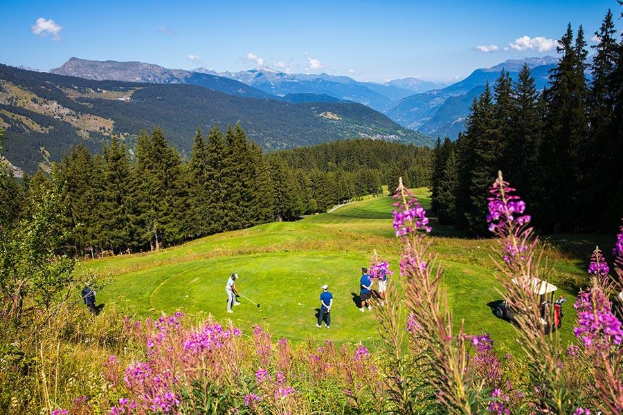 Du Golf en pleine nature