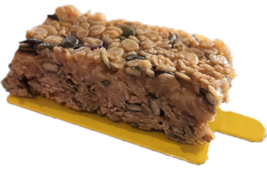 The delicious CamCake cereal bar